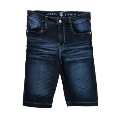 Versail Kids Jeans Wash 3/4 Celana Pendek Anak Laki-laki - Denim