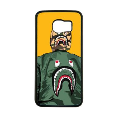 Cococase A Bathing Apes Logo On Jak ... ing for Samsung Galaxy S6