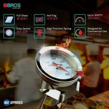 harga Thermometer Minyak Masak Air Susu Deep Fry Oil termometer 300 derajat Blibli.com