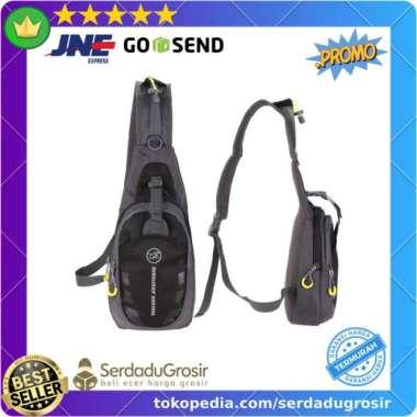 harga Asli Tas Selempang Pria Wanita Olahraga Sporty Crossbody Bag Waterproof ORI Murah Blibli.com
