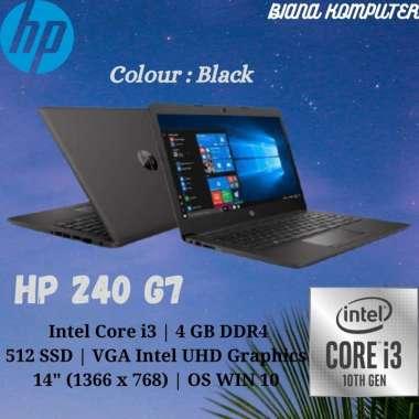 harga HP 240 G7 | CORE i3-1005G1 | RAM 4GB | 512 SSD | OS WIN 10 | 14