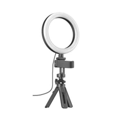 harga Ringlight Tripod For Live Broadcast With 3 Mode Lamp and Phone Holder Multicolor Blibli.com