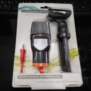 harga Jual Condenser Microphone Desktop SF-666 Recording Vocals with Tripod Sf666 - gold Limited Blibli.com