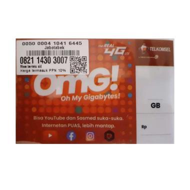 harga Telkomsel Simpati Nomor Cantik 0821 14 303 007 Kartu Perdana [4G LTE] Blibli.com