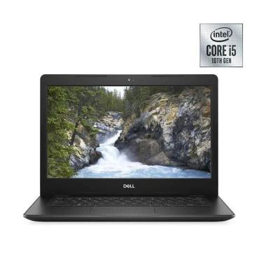 DELL 3490 Notebook - Black [ i5-10210/ 4GB/ 1TB HDD/ UMA/ 14