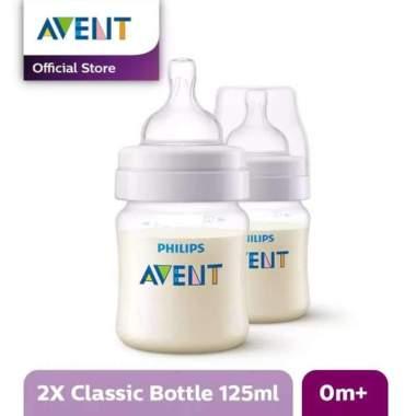 harga AVENT SCF560/27 Bottle Classic+ 125ml Twin Pack Botol Susu Bayi PUTIH Blibli.com