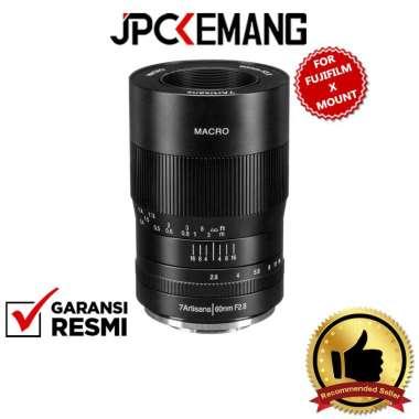 JPC KEMANG 7artisans 60mm f2.8 Macro for Sony E, Micro Four Thirds, Canon EF-M, Fujifilm X Mount GARANSI RESMI Fujifilm X