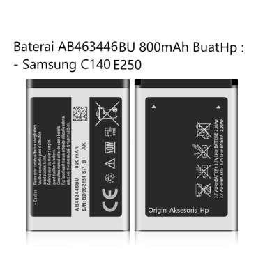 harga Original Baterai AB463446BU Buat Handphone Samsung Galaxy C140 E250 Blibli.com