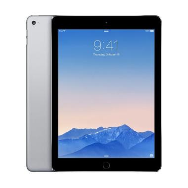 Apple New iPad 128 GB 2017 Tablet - Space Grey [9.7 inch/Wifi Only]