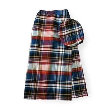Mukena Dinda C16 Sarung Celana Anak - Royal Blue Red