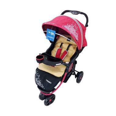 harga Babyelle Stroller Tango 509 Kereta Dorong Bayi - Red Blibli.com