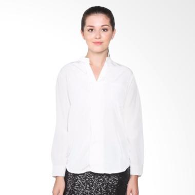 Fashion Mamamia Collection Kemeja Minory - Putih
