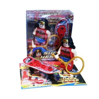 TMO Super Heroes Skateboard Wonder Woman Mainan Anak