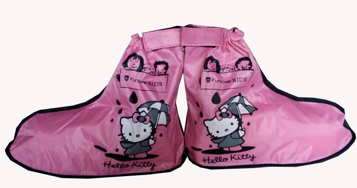 Funcover Junior Hello Kitty Sepatu Hujan