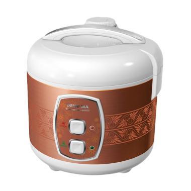 Yong Ma YMC 501 Teflon Gold Iron Rice Cooker - Coklat