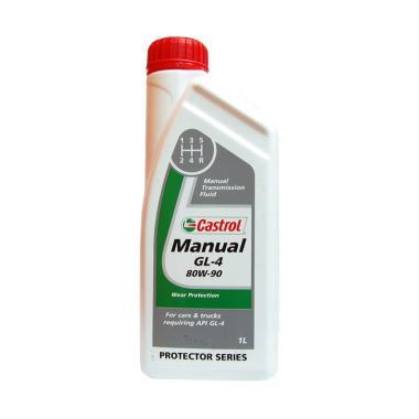 Castrol Manual GL 4 80W 90 Oli Pelumas Transmisi 1 L