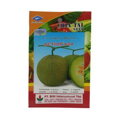Chia Tai Seed Melon Hibrida Action 434 Benih Tanaman  [0.5 g]