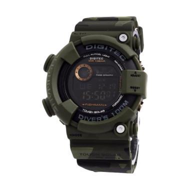 Jam Digitec Army Loreng Fishman DG-2089-T Original Black