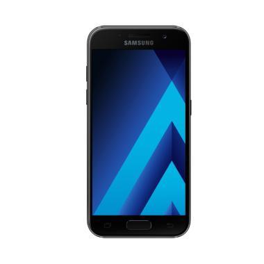 Samsung Galaxy A5 SM-A520 Smartphone - Black [32GB/2GB/2017 Edition]