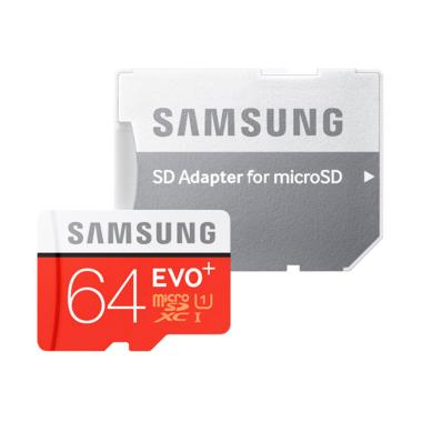 Samsung Memory Card EVO 64GB With Adapter Class 10