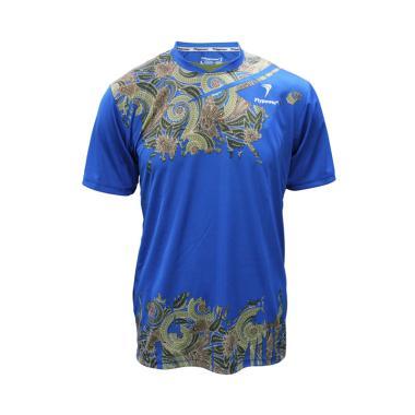 Flypower Krakatau 3 Kaos Badminton Pria - Blue