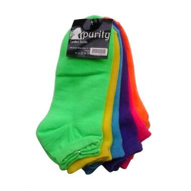 Purity 6in1 Ladies Socks TPU602 Set Kaos Kaki Wanita