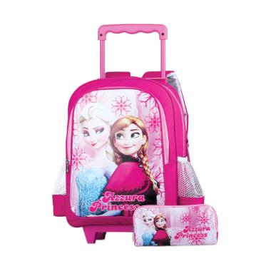 Azzurra Bags for Kids D300 524-09 Frozen Tas Anak - Pink