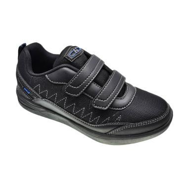 Homyped Edison 01 Super Sepatu Sekolah Anak - Black