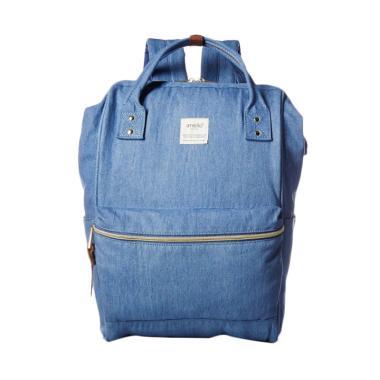 Anello Oxford Backpack Tas Ransel - Denim Blue [Size L]