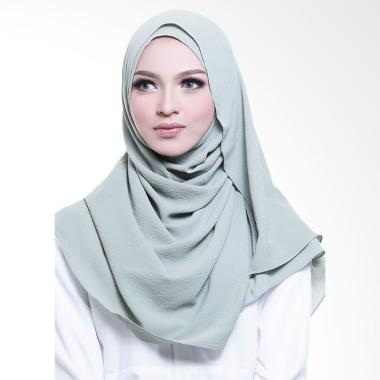 Cotton Bee Adelyn Pashmina Instant  - Pale Green