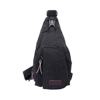 Martinversa Canvas Import Sling Bag - Black