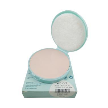 Wardah Everyday Compact Powder - Light Beige [Refill]