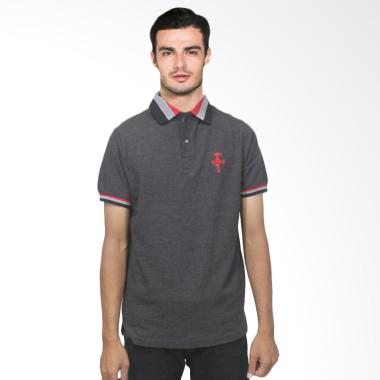 Fyasko Wangki RGB Man Polo Shirt - Black Two Tone