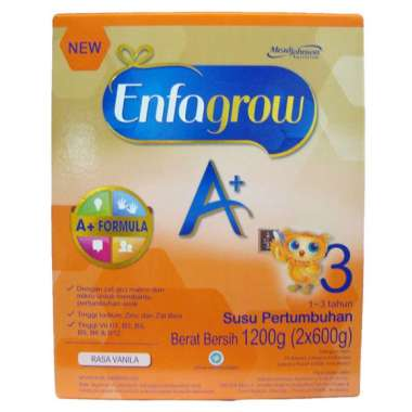 ENFAGROW A+3 VANILLA BOX 1200G