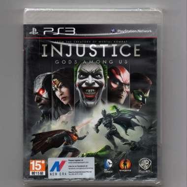 harga Kaset BD Ori PS3 - INJUSTICE: Gods Among Us Blibli.com