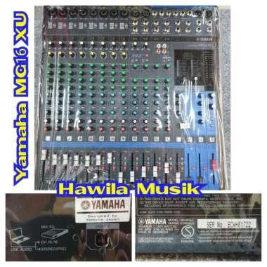 harga Mixer YAMAHA MG16XU MG 16XU MG-16XU MG 16 XU MG16 XU Mixing Console YAMAHA SPX MG16XU ORIGINAL Garansi Resmi Blibli.com