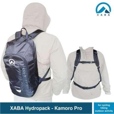 harga XABA Tas Ransel Olahraga Sepeda - Kamoro 14 Liter - XABA Hydropack Semua Ukuran BLACK Blibli.com