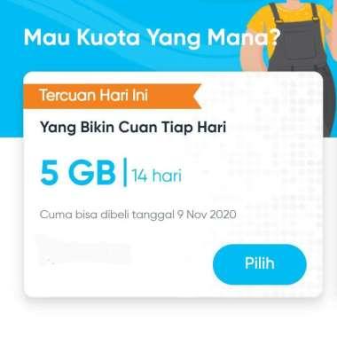 harga PROMO Kartu Perdana byU Telkomsel 7 GB 14 hari Blibli.com