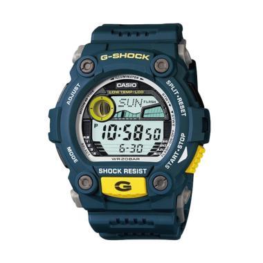 Casio G-Shock Men Biru Resin Strap  Jam Tangan Pria G-7900-2