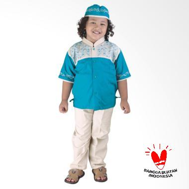 Catenzo Junior CSG 250 Afraz Baju Koko Anak