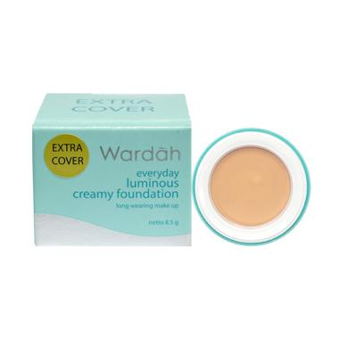 Wardah EVD Lumi Creamy FDT EC 02 Foundation - Light Beige