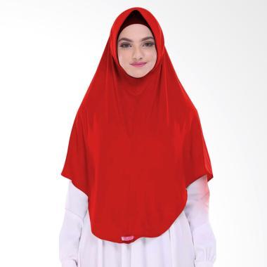 Milyarda Hijab Pashmina Instant BERGO L - Merah