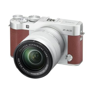 Fujifilm X-A3 Kamera Mirrorless wit ... rown + SD 16GB fujishopid