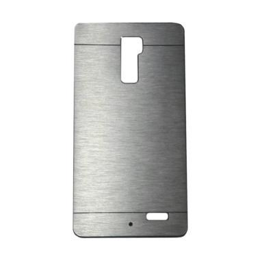 Motomo Metal Hardcase Casing for OPPO R7 Plus - Silver
