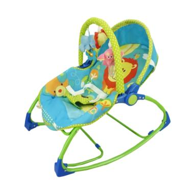Pliko Rocking Chair Hammock Lion Green Baby Bouncer