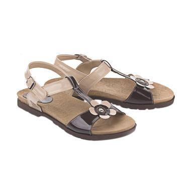 Blackkelly LTE 154 Marema Sandal Flats Sandal Wanita