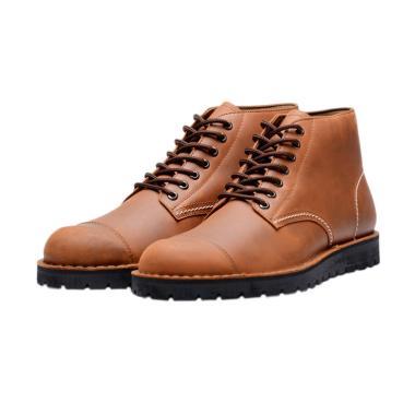 Brodo Alpha Casual Boot Sepatu Pria - Vintage Brown