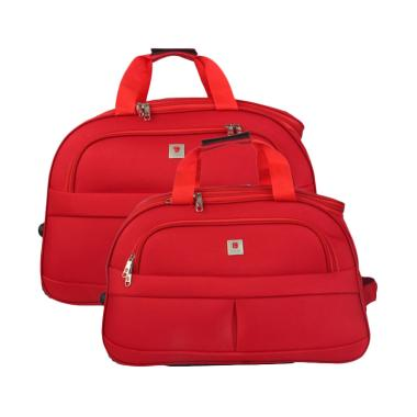 Polo Classic JS1002-35 Travel Bag Trolley - Red [18 & 21 inch]