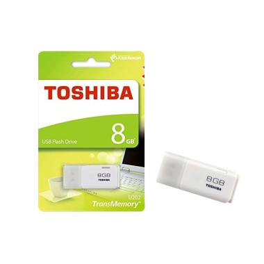 Toshiba USB Flashdisk - White [8 GB