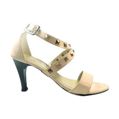 Beauty Shoes Mid Heels 1010 Sepatu Wanita - Beige